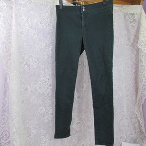 Levis Green Stretch Skinny Jeggings Jeans